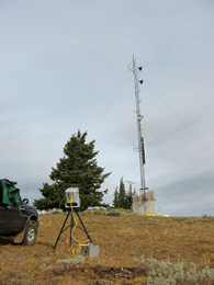D. Wellman Surveying TV Tower